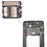 High Quality Replacement Mobile Phone SIM Card Slot + Sim Card Connector for Samsung Galaxy Note i9220