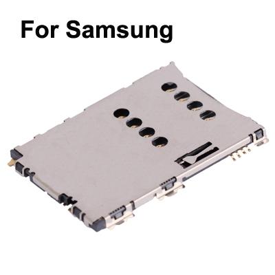 High Quality SIM Card Slot + SIM Card Connector for Samsung Galaxy Tab P1000 / Galaxy Tab P6200 / Galaxy Tab 2  (7.0) / P3100 / i5800 / S5620 / S5625 / S5862 / S5560c / i5801