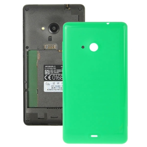 new style 69d12 a1307 Solid Color Plastic Battery Replacement Back Cover for Microsoft Lumia 535  (Green)