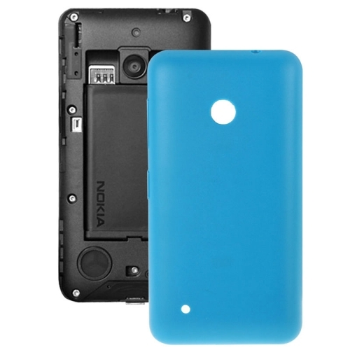 best sneakers 81bbb 94832 Solid Color Plastic Battery Replacement Back Cover for Nokia Lumia  530/Rock/M-1018/RM-1020 (Blue)