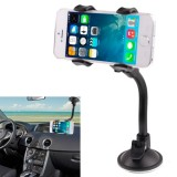 Universal 360 Degree Rotation Suction Cup Car Holder / Desktop Stand for All Mobile / MP4 / PDA / PSP / GPS, Size Range: 3.5cm – 8.3cm (Black)