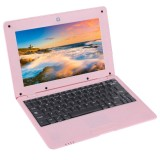 TDD-10.1 Netbook PC, 10.1 inch, 1GB+8GB, Android 5.1 ATM7059 Quad Core 1.6GHz, BT, WiFi, SD, RJ45(Pink)