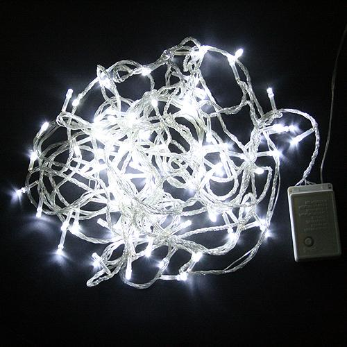 White String Party Lights : White 10M 100 LED String Fairy Lights party Wedding new Alex NLD