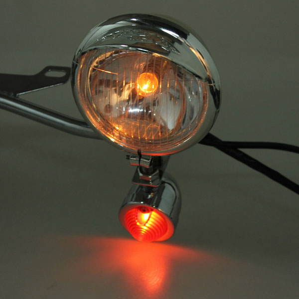 Turn Light Spotlight Bar Passing Lamp For Harley-Davidson Honda