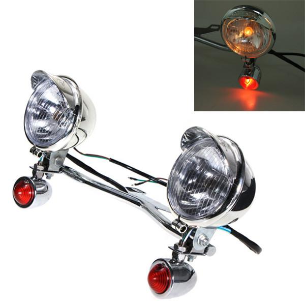 Turn Light Spotlight Bar Passing Lamp For Harley-Davidson