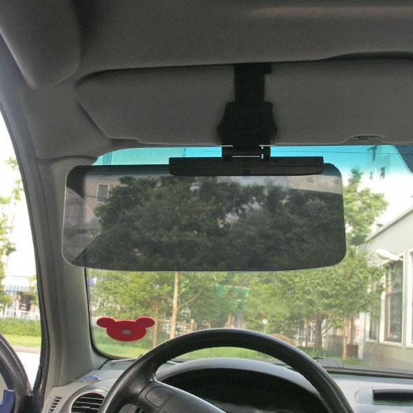 Car Van Shade Sun Visor Extension Glare Mirror Window Sunscreen ... 0439fdaa801