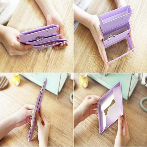 DIY Cardboard Paper Jewelry Organizer Receive Storage Boxs Alex NLD