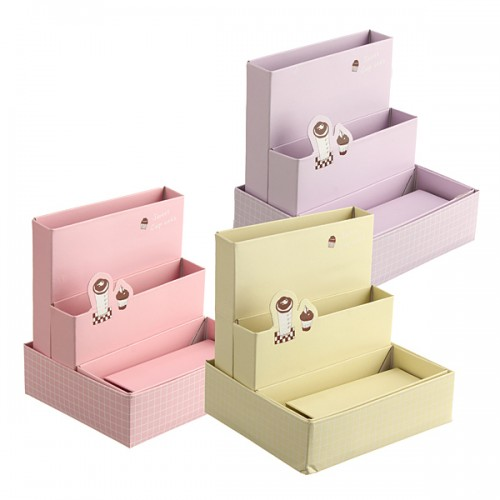 DIY Cardboard Paper Jewelry Organizer Receive Storage Boxs