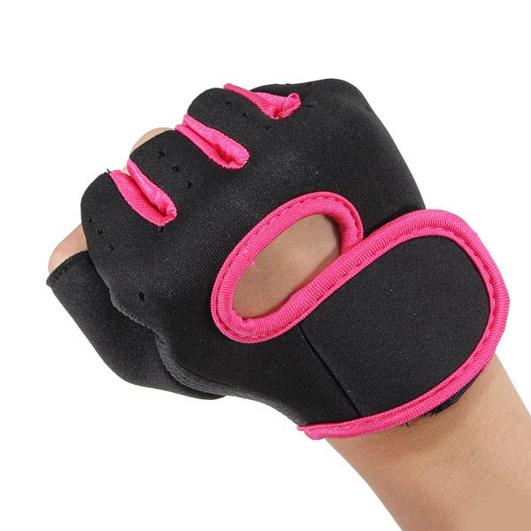 Cycling Training Weightlifting Slip Boating Half Finger Gloves