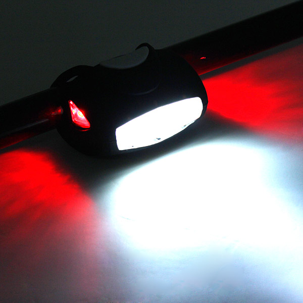 7 LED The Frog Light Bike Bicycle Safety Tail Light ...