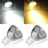 GU10 9W White/Warm White 3LED Spot light Bulb LED Lamp Light AC85-265V