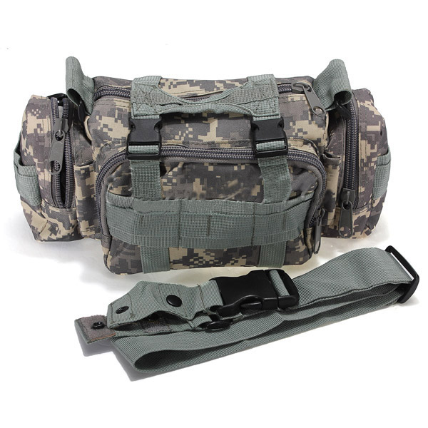 Tactical Military Camping Hiking Sport Bag Waist Pack