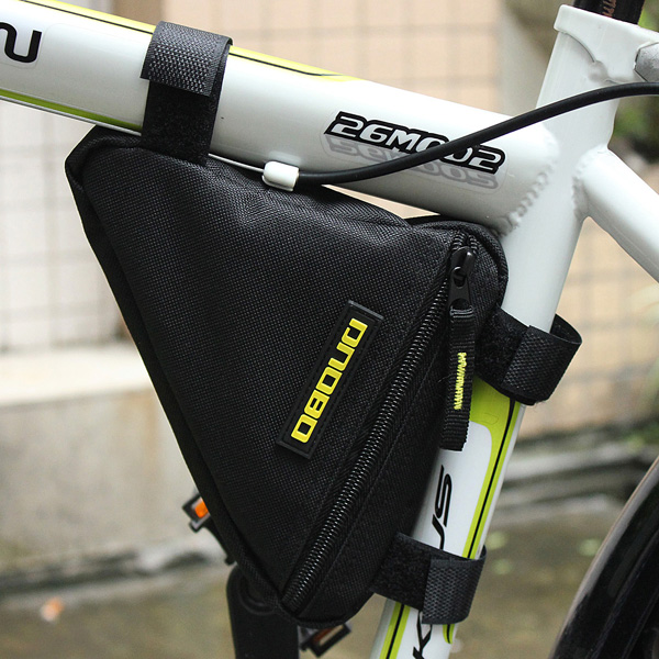 Bike Frame Front Triangle Bag Cycling Pipe Pouch Tool
