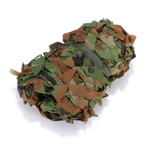 Woodland camouflage camo cover net hide army hunting netting alex