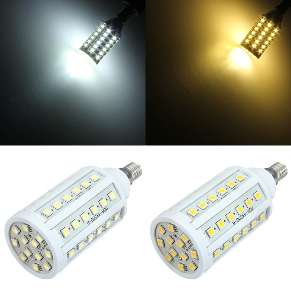 e14 10w white warm white 60 smd 5050 led corn light bulb 110v alex nld. Black Bedroom Furniture Sets. Home Design Ideas