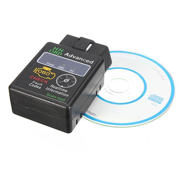 elm327 car obd2 can bus scanner tool with bluetooth. Black Bedroom Furniture Sets. Home Design Ideas