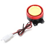 12V 125dB Motorcycle Dedicated Anti-theft Alarm Horn