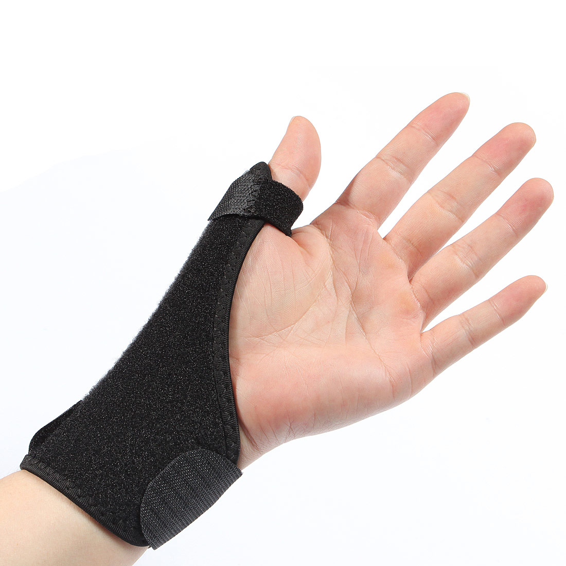 Finger Wrist Support Unisex Sports Clothing Gloves ...