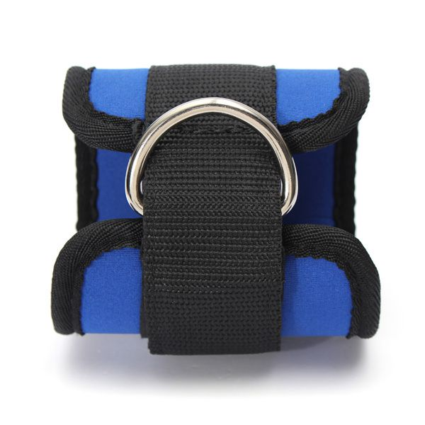 Ankle Strap D-ring Thigh Leg Attachment Pulley Gym Weight Lifting