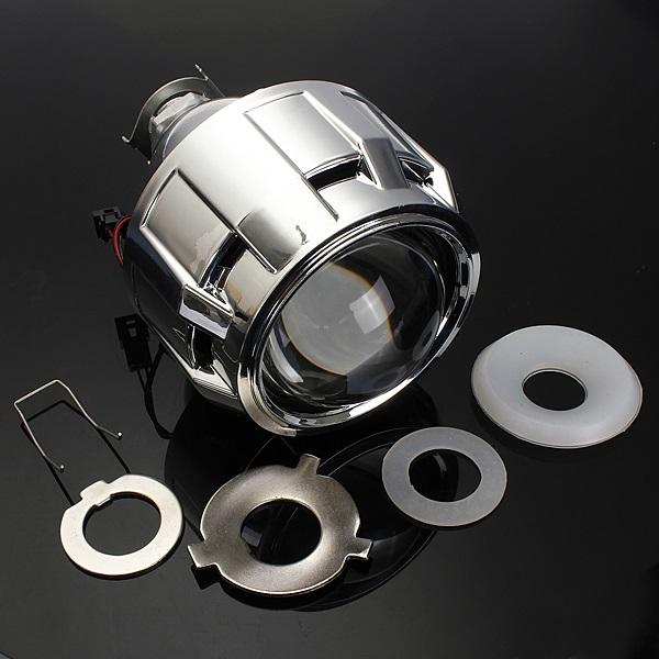 2 5 Inch Motor Bi Xenon Hid Projector Angle Eye Halo Lens
