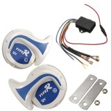 12V Electronic Digital Vehicle Off Road Siren Loud Horn 18 Sounds