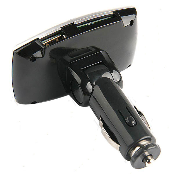 Car MP3 Player Wireless Adapter FM Transmitter + Remote Control