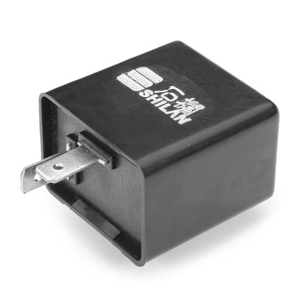 2 pin 12V Motorcycle Bike Flasher Relay Resistor for Led Indicator