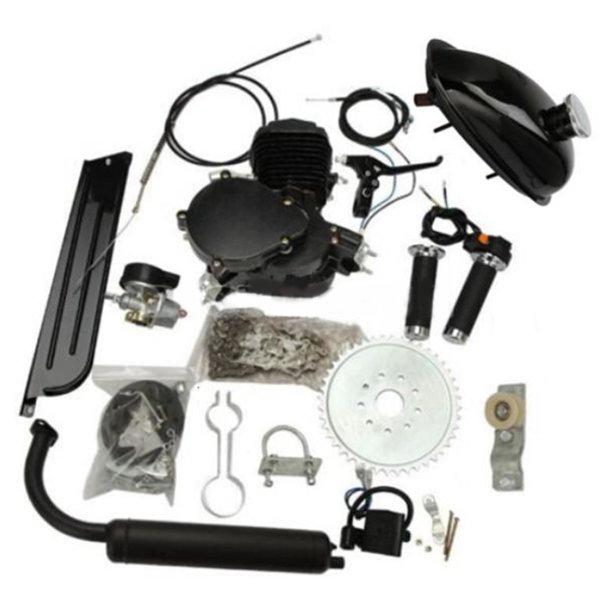 80cc 2 Stroke Cycle Motorized Bike Black Body Engine Motor