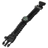 9 Paracord Bracelet Outdoor Survival Compass/Whistle Emergency Kits""