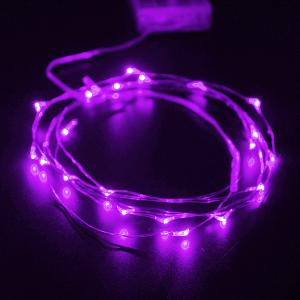 2M 20 LED Copper Wire Starry Lights String Fairy Battery Powered Decor Alex NLD
