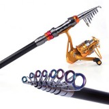 Telescopic Fishing Rod Carbon Spinning Sea Fishing Pole