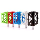 SCUDGOOD Aluminum Alloy Bicycle Bike Pedals Two Bearings Multicolor
