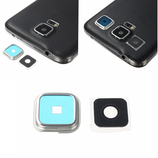 info for 41cb4 1f1d0 Phone Camera Lens Cover Replacement For Samsung Galaxy S5 i9600