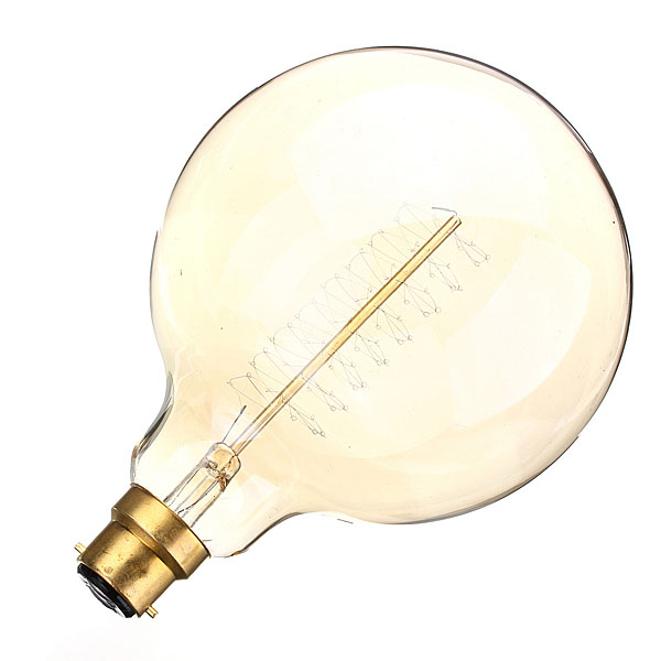 B22 60w incandescent bulb 110 220v g125 edison tungsten light bulb alex nld Tungsten light bulbs