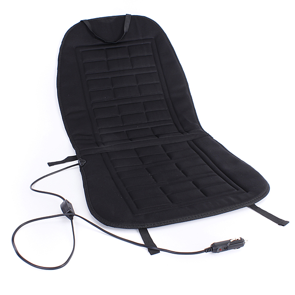 12V Car Front Seat Hot Heater Heated Pad Cushion Winter Warmer Cover