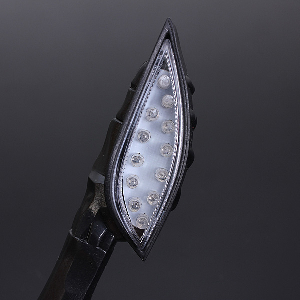Universal Motorcycle Amber Indicator LED Turn Signal Light