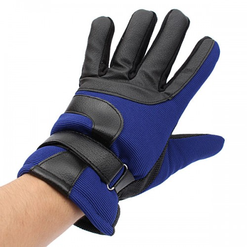 Winter Bicycle Bike Cycling Skiing Flannel Fabric Full Finger Gloves