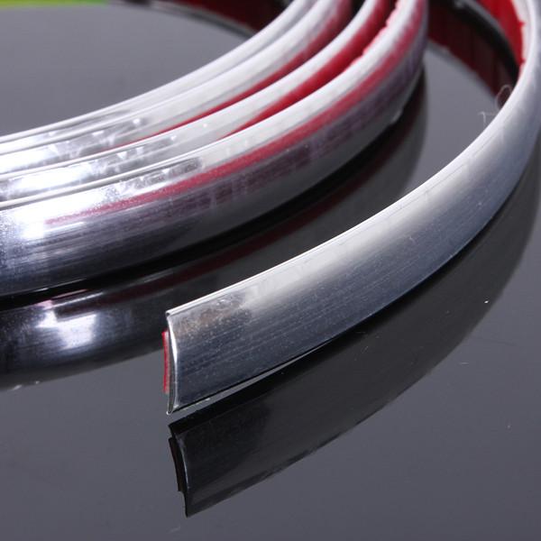 chrome car styling moulding strip trim self adhesive crash protecter alex nld. Black Bedroom Furniture Sets. Home Design Ideas