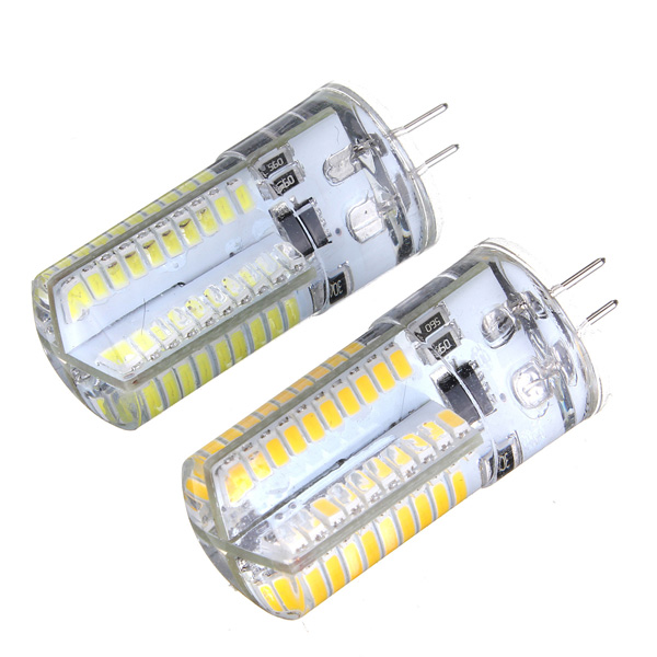 dimmable g4 3w white warm white 3014smd led bulb silicone 110 120v. Black Bedroom Furniture Sets. Home Design Ideas