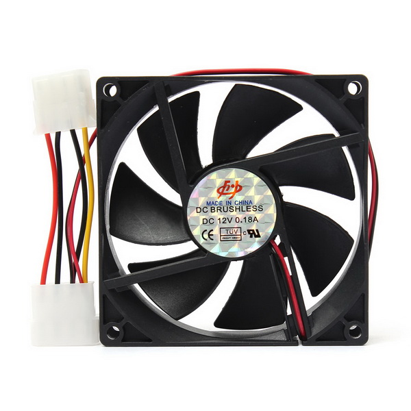 90x90x25mm 12v 4pin Computer Pc Cpu Silent Cooling Cooler