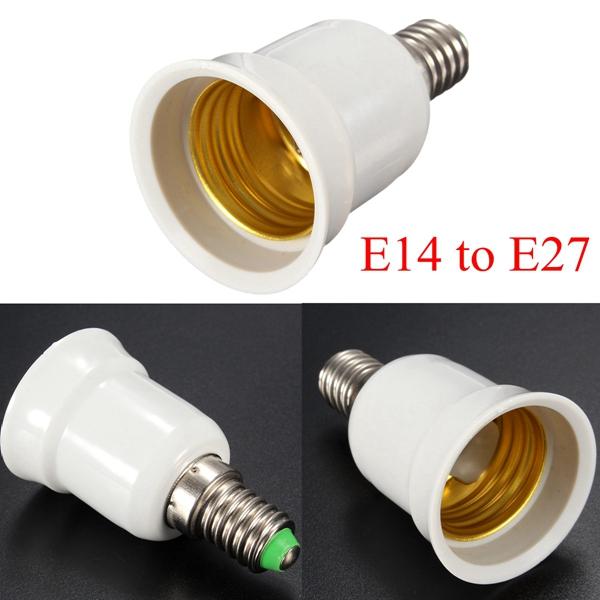 e14 to e27 base screw led lamp bulb holder adapter socket converter alex nld. Black Bedroom Furniture Sets. Home Design Ideas