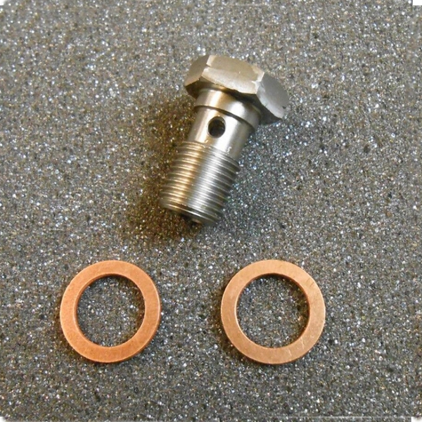 10mm M10x1.00 Stainless Banjo Bolt Brake Caliper Master Cylinder Fitting