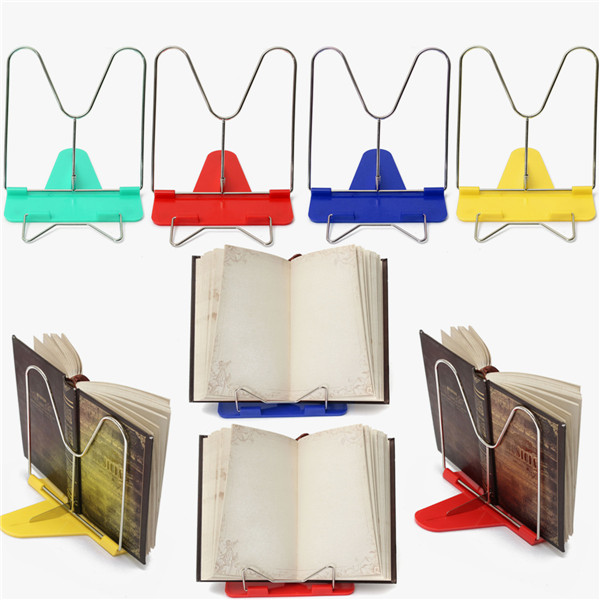 adjustable angle foldable portable reading book stand desk holder rh alexnld com book stand for desk amazon book stand for desk walmart