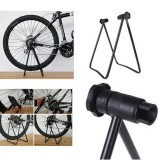 Bicycle Bike Triple Wheel Hub Folding Stand Kickstand Lift Holder