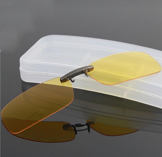 Sunglasses Case Clip on Glasses Box Protector Goggle Case