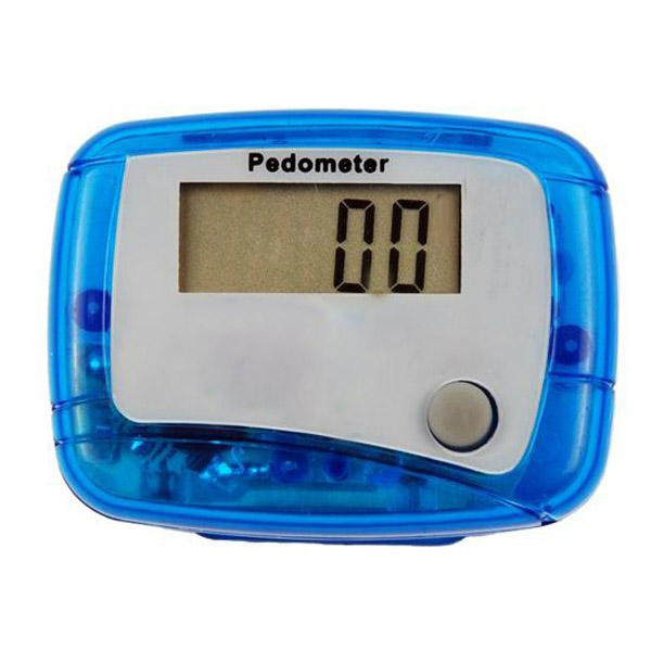 LCD Digital Pedometer With Clip Walking Distance Counter ...