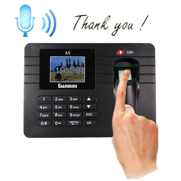 fingerprint clocking machine
