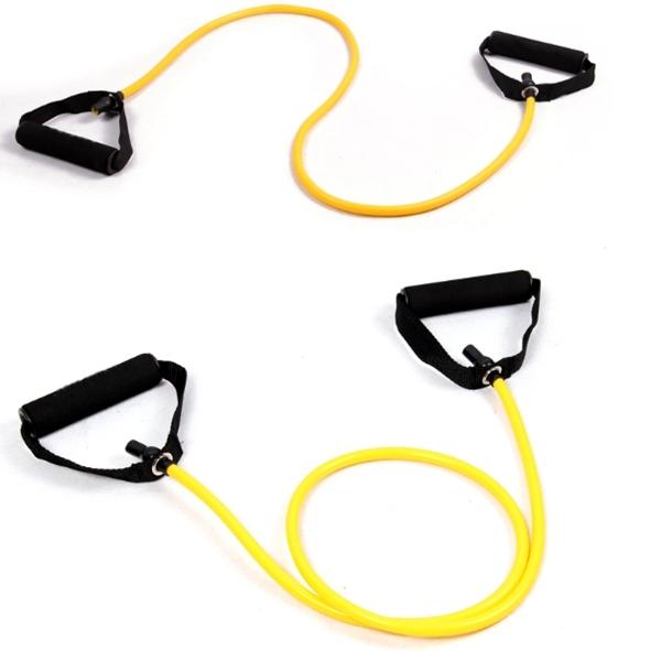 Yoga Exercise Elastic Fitness Resistance Band Rope Tubes