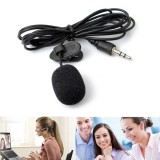 Portable Collar Mini 3.5mm Tie Lapel Lavalier Clip Microphone For Lectures Teaching TR