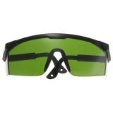 532nm Tinted Anti Laser Safety Glasses With UV Eye Protection Laser Goggles Green